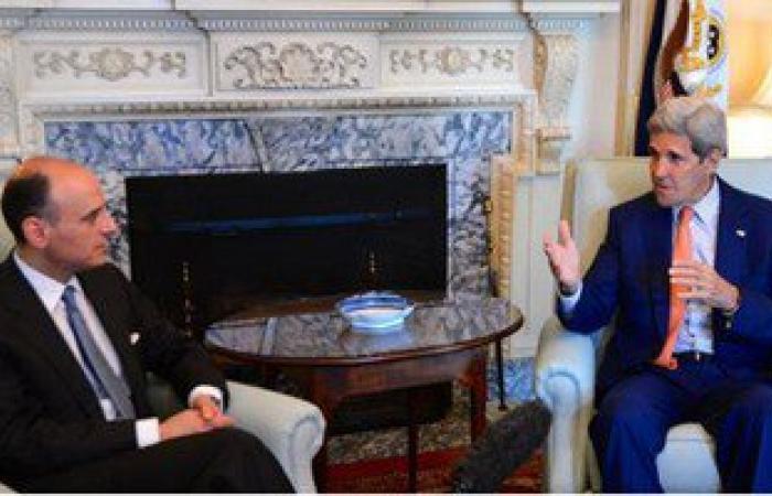 """""""كيرى"""": يسعدنى لقاء صديقى """"الجبير"""" لمناقشة أمن الخليج والاتفاق النووى"""