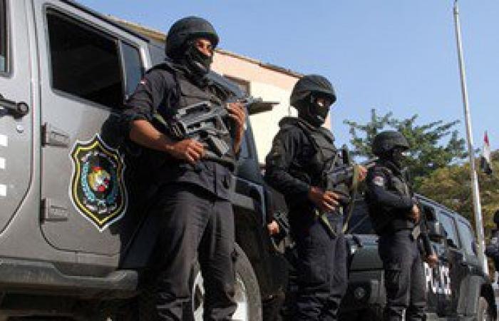 انتشار مكثف لقوات الشرطة بالعريش.. وتشديدات أمنية على الطريق الدولى