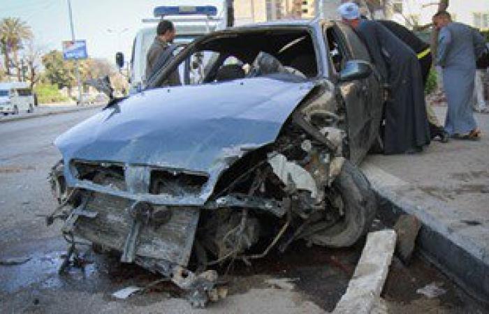 إصابة 8 فى حادث تصادم بالطريق الدولى الساحلى بكفر الشيخ