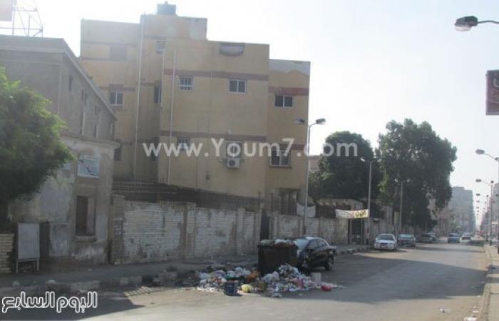 مستشفى الحميات ببورسعيد تتخلص من النفايات الخطرة بصناديق القمامة