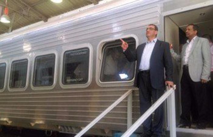 """تشغيل أول قطار مكيف بنظام """"v i p""""على خط القاهرة - الإسكندرية خلال ساعات"""
