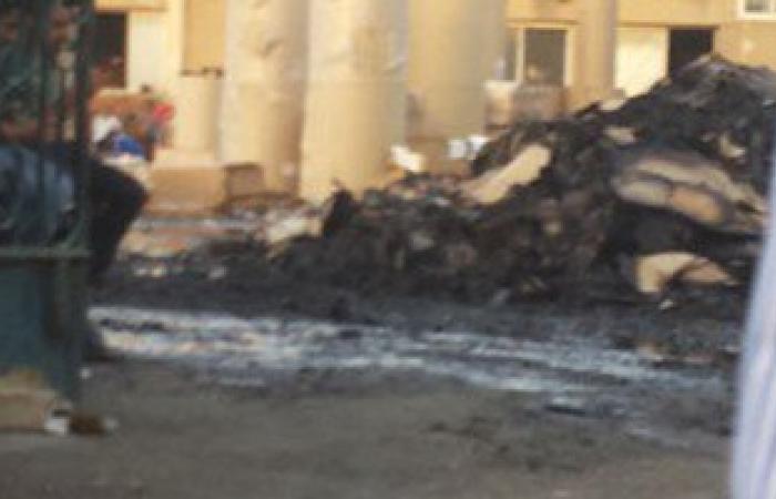 صاحب مصنع الكارتون المحترق بالعاشر: الخسائر من 25 لـ30 مليون جنيه