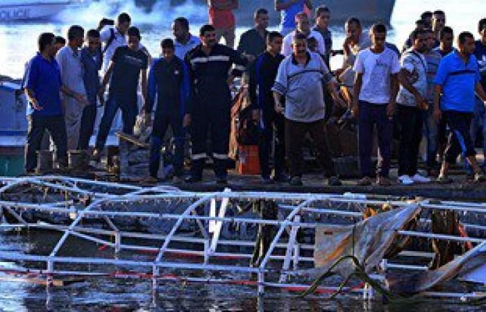 جهود مكثفة لانتشال آخر جثة لضحايا مركب الوراق أمام بوابات القناطر الخيرية