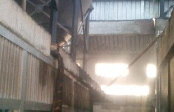 النيابة تأمر باستدعاء مسئولى مصنع النشا المحترق بشبرا الخيمة
