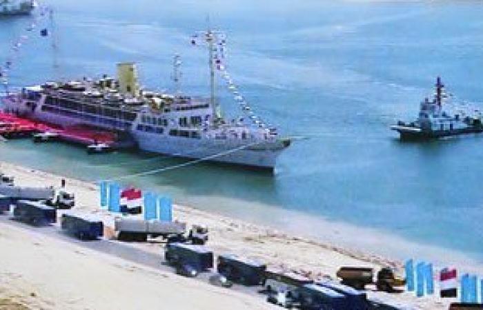 """مصدر بـ""""قناة السويس"""": الكراكة بركات لم تصطدم بسفينة فى المجرى الملاحى"""