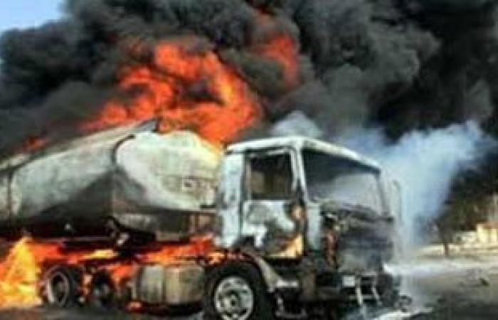 توقف طريق القاهرة ـ إسكندرية الزراعى بعد انفجار سيارة محملة بمواد بترولية
