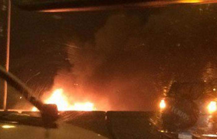 الداخلية تعلن مصرع مواطن وإصابة 8 فى انفجار سيارة بطريق القاهرة الإسكندرية