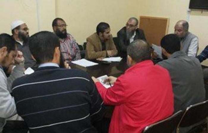 """وكيل أمانة """"النور"""" بالإسكندرية يجتمع بالحملة الانتخابية للحزب بالمحافظة"""