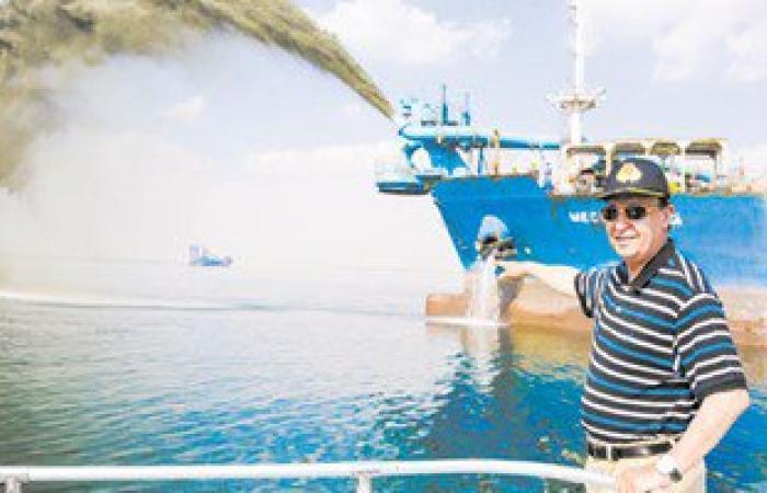 مهاب مميش: قناة السويس الجديدة تستطيع استيعاب الأجيال المقبلة من السفن