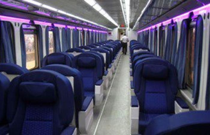 """السكة الحديد تزود القطارات المكيفة """"VIP"""" بخدمة """"الواى فاى"""" مجانا"""