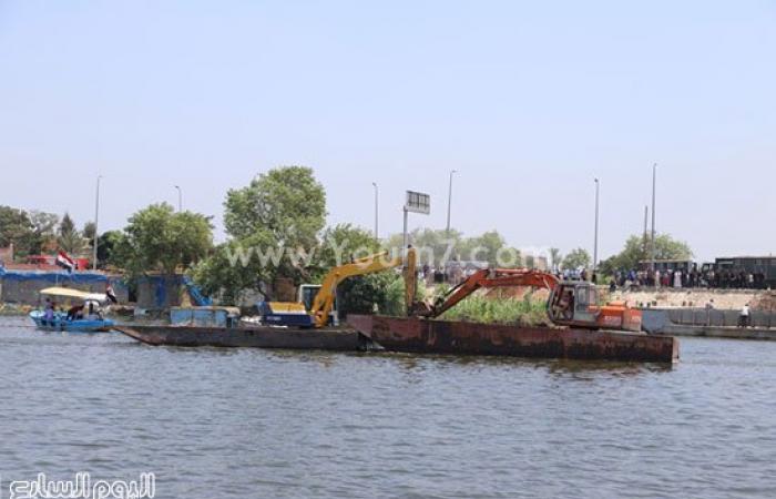محافظ البحيرة: وضع خطة لإزالة كل التعديات والأقفاص السمكية بنهر النيل