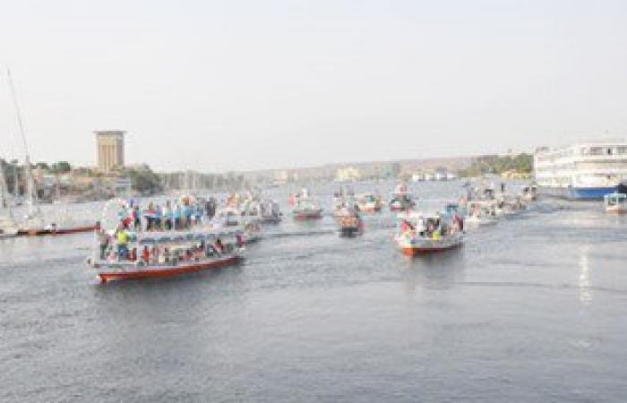 شرطة المسطحات المائية تضبط 96 مركبا نيليا غير مرخصة