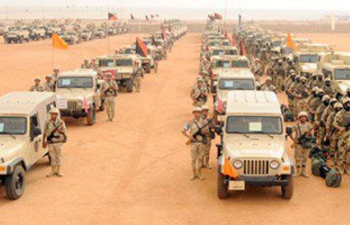 قوات الأمن تفجر 7 عبوات ناسفة زرعها إرهابيون جنوب الشيخ زويد