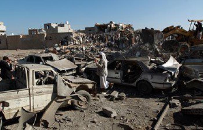 سفن التحالف تقصف سواحل أبين اليمنية