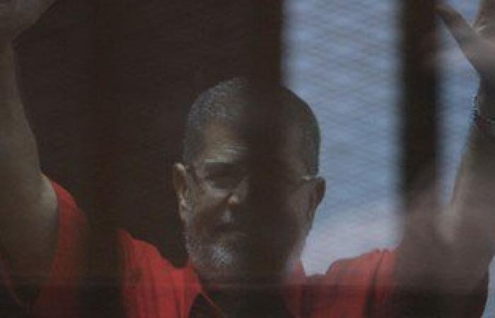 """بدء جلسة محاكمة """"مرسى"""" و10 متهمين أخرين بقضية """"التخابر مع قطر"""""""