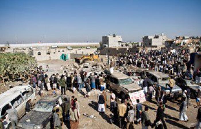 تشييع جثامين 3 جنود إمارتيين قتلوا فى اليمن