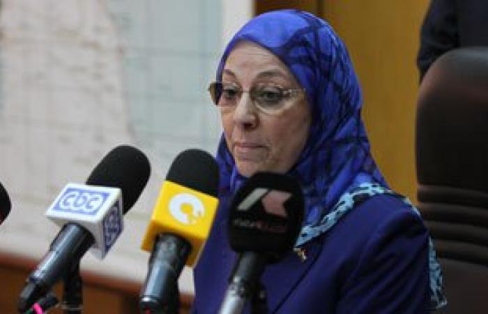 وزيرة القوى العاملة من المنوفية: غرامة على رؤساء الشركات لرفض تشغيل نسبة5%