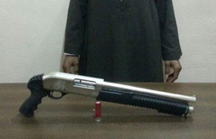 حبس عاطل ضبط بحوزته بندقية خرطوش وكمية من الحشيش فى القناطر الخيرية