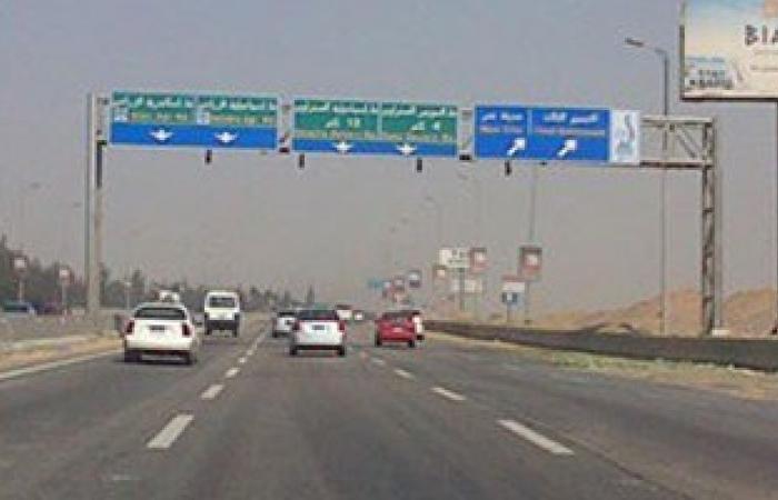 فتح طريق السلام بالسويس بعد غلقه ساعة بسبب مطاردة الإرهابيين
