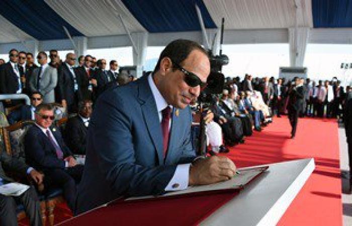 """موجز الصحافة المحلية.. الرئيس يعلن مشروعات جديدة ضمن برنامج """"الألف خطوة"""""""