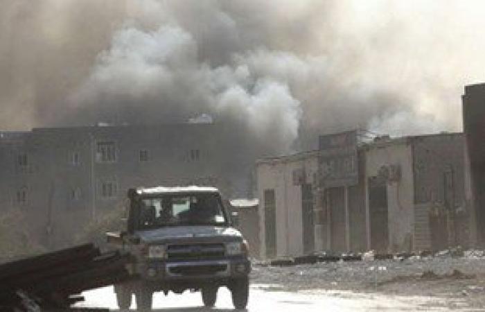 مقتل وإصابة 26 فى انفجار سيارة بمدينة درنة بليبيا وداعش يتبنى الانفجار
