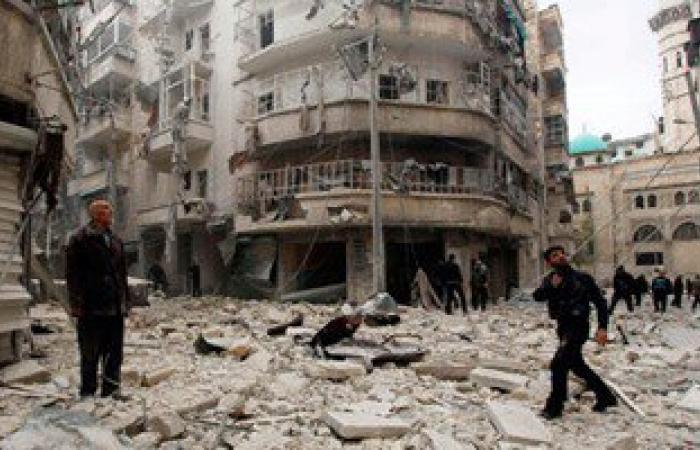 مقتل 18 عنصرا للجيش السورى فى هجوم لداعش على مطار كويرس