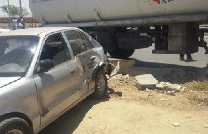إصابة شرطيين ومدنيين فى حادث سير بمدينة العريش
