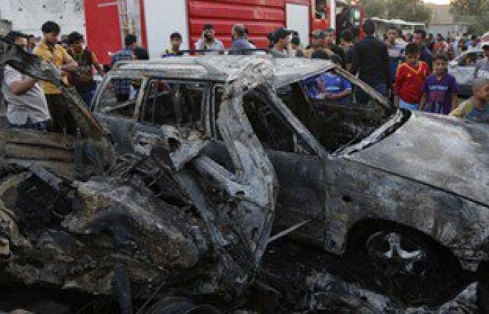 مقتل قاض فى تنظيم داعش و6 من مرافقيه جنوب الموصل فى انفجار سيارة مفخخة