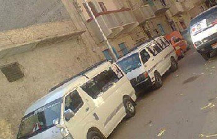 بالصور .. دعاية بالسيارات امام لجنة المشير احمد اسماعيل فى الاسماعيلية