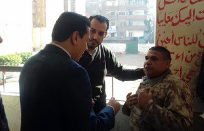 بالصور.. جولة لمحافظ الشرقية للاطمئنان على سير العملية الانتخابية