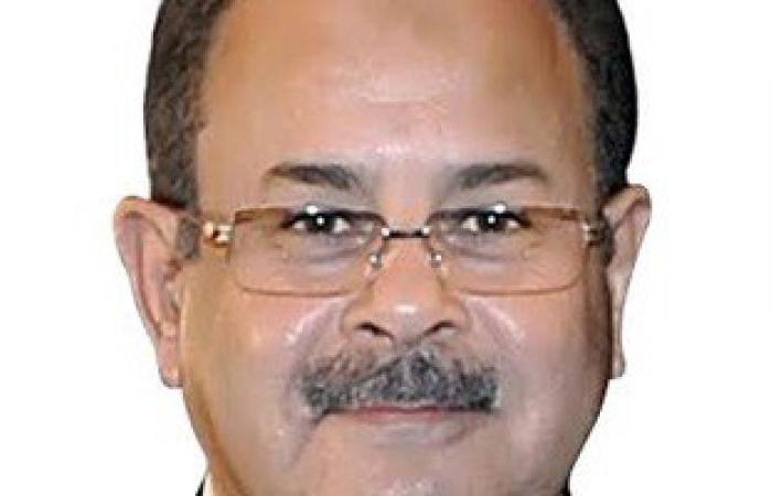 وصول وزير الداخلية للإدلاء بصوته فى لجنة الشهيد رامى الجنجيهى بمدينة نصر