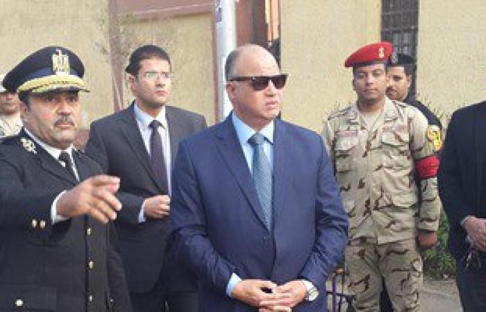 مدير أمن القاهرة يتفقد اللجان الانتخابية بمدرسة الشهيد رامى محمد بمدينة نصر