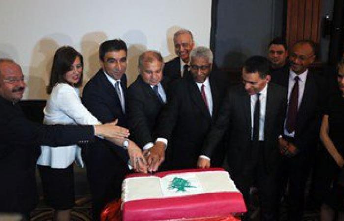 قنصلية لبنان بالإسكندرية تحتفل بعيد استقلالها