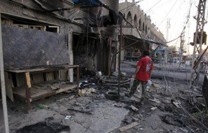 مقتل عراقى وإصابة 6 آخرين فى انفجار عبوة ناسفة شمالى بغداد