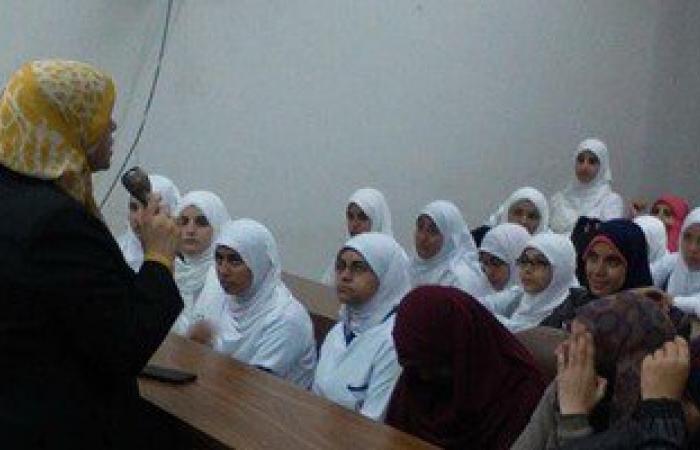كلية التمريض بجامعة قناة السويس تقيم ندوة توعية عن الالتهاب السحائي