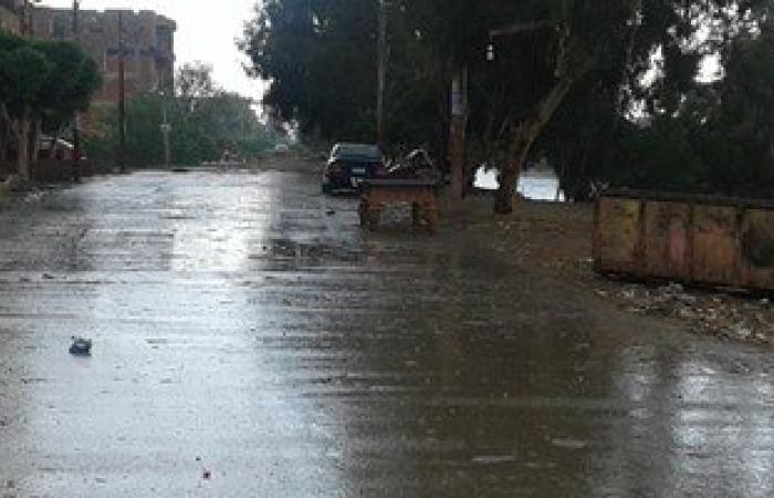 تحسن الأحوال الجوية بالإسكندرية بعد موجة أمطار رعدية غزيرة