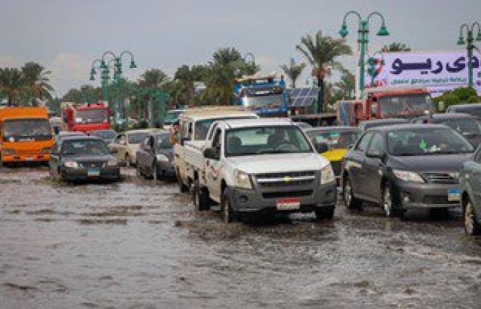 الصرف الصحى بالإسكندرية: الشبكة استوعبت الأمطار ولم يحدث عطل بالمحطات