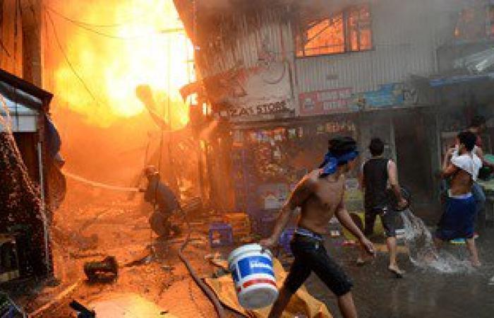 مباحث المحلة تكثف تحرياتها لكشف غموض حريق مكتب تموين بشبيش واختفاء 35 بطاقة