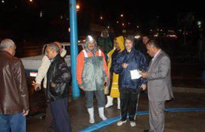 """محافظ الاسكندرية بالإنابة: لم يحدث تراكم أمطار كـ""""النوات"""" السابقة"""