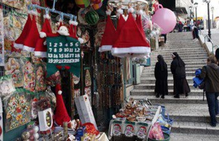 بالصور.. أجواء الاحتفال تسيطر على مدينة بيت لحم مع قرب عيد الميلاد المجيد