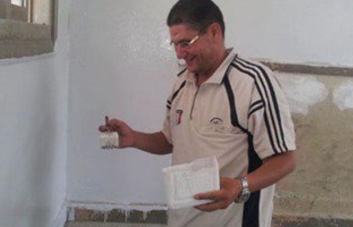 موجهو المجال الصناعى بالغربية يدشنون حملة لصيانة 55 مدرسة فى المحافظة