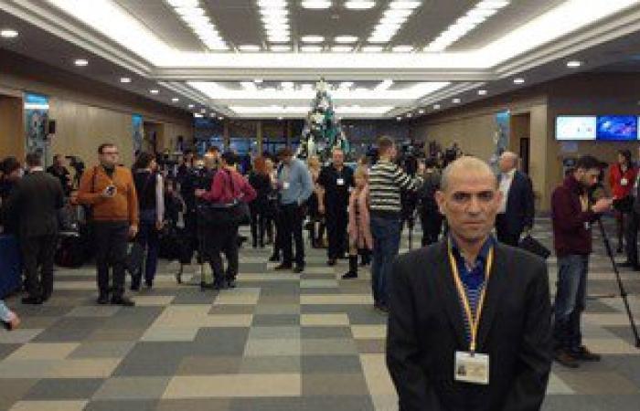 صاحب صورة الأهرامات بمؤتمر بوتين: رسالتى وصلت بأن مصر آمنة