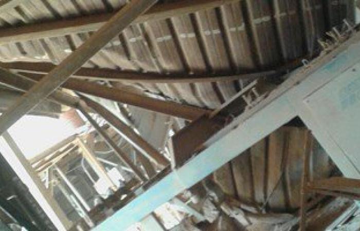 استئناف العمل بمصنع سيراميك العاشر بعد سقوط سقف على العمال