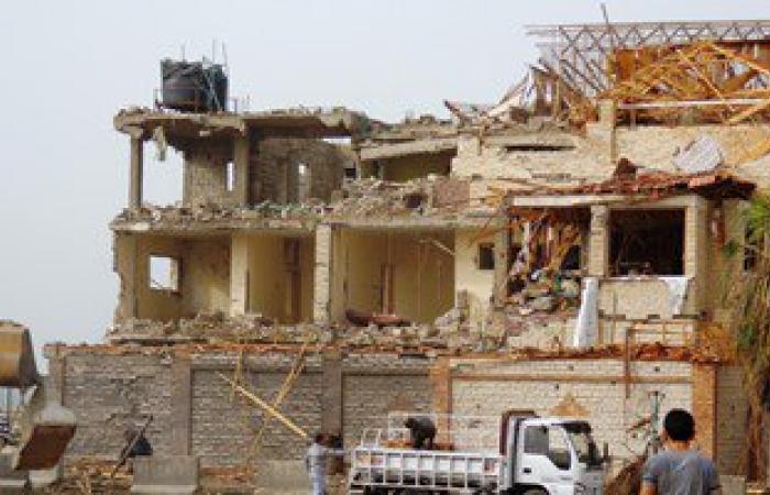"""أخبار مصر للساعة1.. استشهاد ضابط وإصابة مجند فى انفجار عبوة بـ""""العريش"""""""