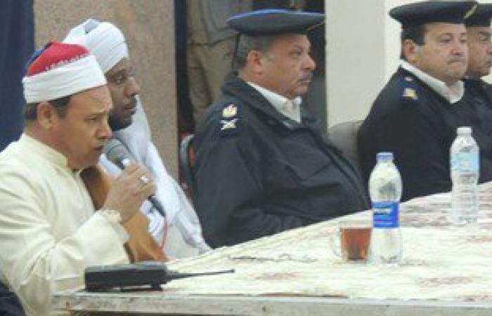 بالصور..مديرية أمن الأقصر تنظم ندوة دينية للمجندين بمناسبة المولد النبوى