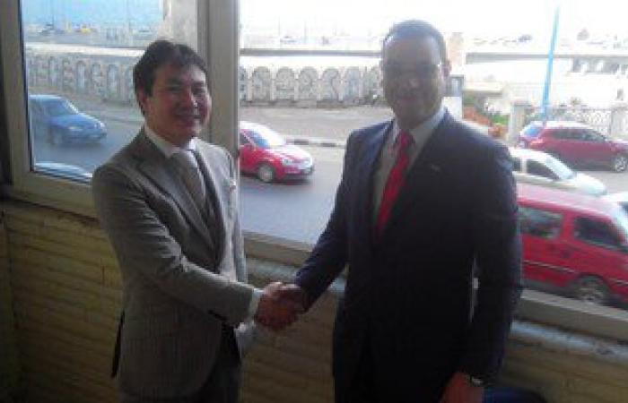 نائب المنتزه بالإسكندرية يلتقى مستشار الشؤون السياسية للسفارة اليابانية