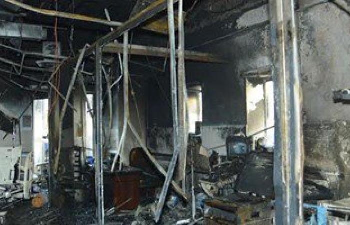 ارتفاع عدد مصابى حريق مستشفى جازان لـ123 مصابا