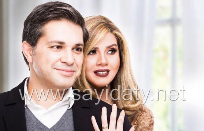 اعترافات خاصة لرانيا فريد شوقي وزوجها في أول إطلالة لهما بعد زواجهما