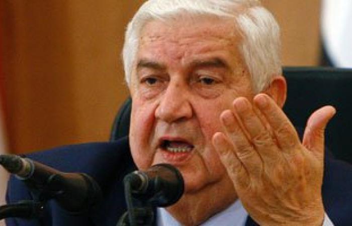 """وليد المعلم: يجب منع تسرب """"الإرهابيين"""" إلى سوريا من تركيا والأردن"""