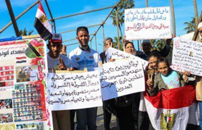 متظاهرو القائد إبراهيم: لن نترك الميادين للاخوان بذكرى25 يناير